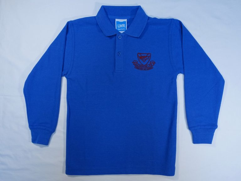 Thumbnail for Polo Shirt – Long Sleeved (Poly Cotton)