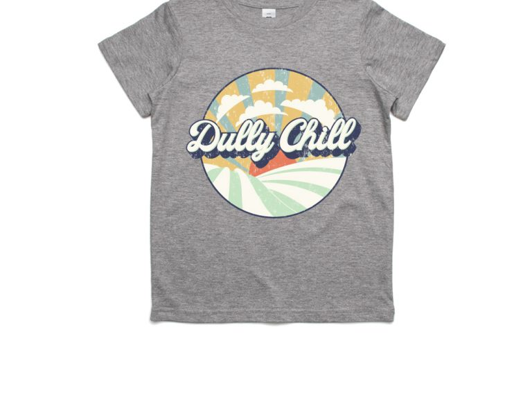 Thumbnail for Dully Chill Kids T-Shirt Grey